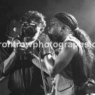 "Living Colour Singer Corey Glover 8""x10"" BW Concert Photo"
