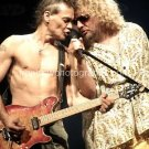 "Eddie Van Halen Sammy Hagar Color 8""x10"" Concert Photo"