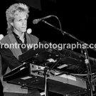 "Hooters Keyboardist Rob Hyman 8""x10"" BW Concert Photo"