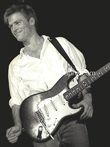 "Musician Bryan Adams 8""x10"" Black & White Concert Photo"