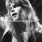 "Helloween Singer Michael Kiske 8""x10"" BW Concert Photo"