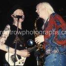 "Musicians Johnny & Edgar Winter 8""x10"" Color Concert Photo"