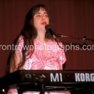 """Laura Nyro """"Live"""" 8""""x10"""" Color Concert Photo"""