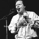 "Singer Delbert McClinton 8""x10"" BW Concert Photo"