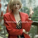 """Singer Debbie Gibson 8""""x10"""" Color Off Stage Photo"""