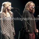 "Robert Plant with Allison Krauss 8""x10"" Concert Photo"