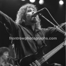 "Boston Brad Delp 8""x10"" Black & White Concert Photo"