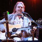 "Musician Neil Young Acoustic 8""x10"" Color Concert Photo"