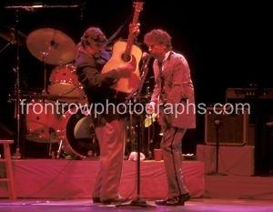 "Bob Dylan & Rick Danko ""Collectors"" 8""x10"" Color Photo"