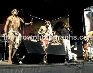 "Yothu Yindi Band 8""x10"" Color Concert Photo"