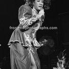 "Singer Patty LaBelle 8""x10"" BW Concert Photo"