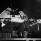 "Bon Jovi David Bryan 8""x10"" BW Concert Photo"