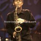 """David Sanborn 8""""x10"""" Color Concert Photo"""