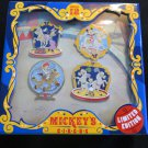 Disney circus pin set