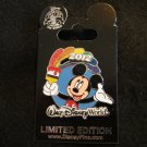 Mickey Paintbrush Rainbow 2012 LE 1000 slider pin