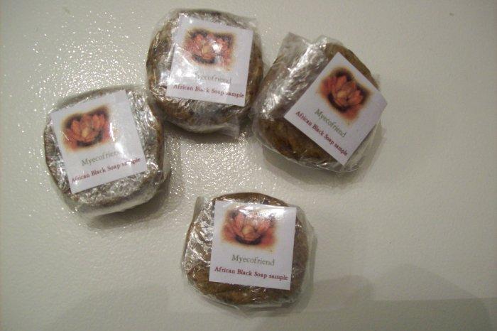 African Black Soap 1/2 oz sample