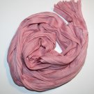 Alirina Charm Long Crinkled Women's Scarf - Pink