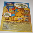Magazine Advertisement Ad - Kraft Macaroni and Cheese (2 Ads), Nickelodeon