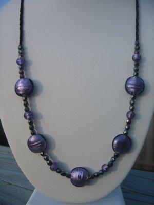 Purple and Black Sparkles