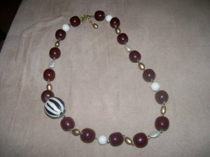 Dark beaded Necklace