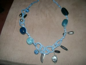 Ocean Blue Stone Necklace