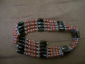 Red Magnetic Fashion Beads