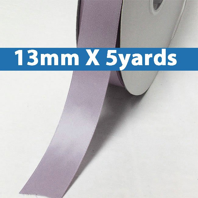 """# 435 thistle Color 13mm/0.5"""" Wide 5 Yards Double Faced Satin Ribbon (#28800 X5 Yards)"""