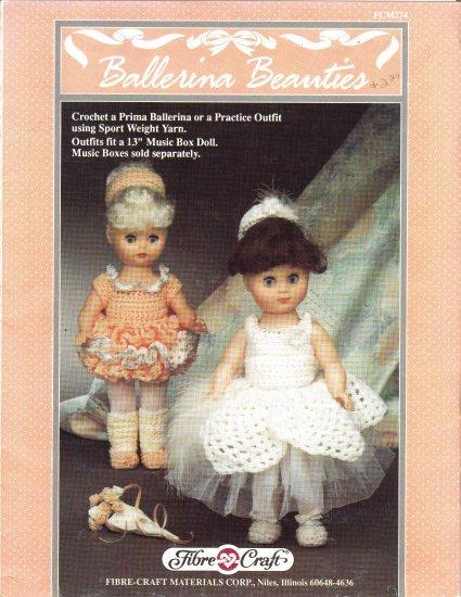 Ballerina Beauies~Crochet Pattern~ Free Shipping