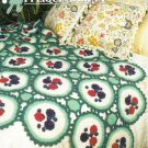 Annie's Attic Q & A Club~ Applique Afghan~ Free Shipping