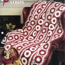 Annie's Attic Q & A Club~ Poinsetta Strips~ Free Shipping