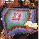 Annie's Attic Q & A Club~ Around The World Quilt~ Free Shipping