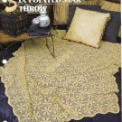 Annie's Attic Q & A Club~ Six Pointed Star Throw~ Free Shipping