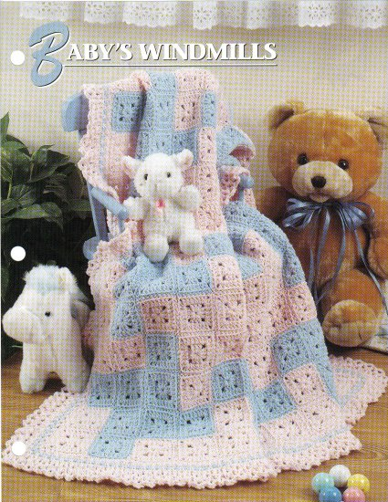 Annie�s Attic Q & A Club~ Baby's Windmills~ Free Shipping