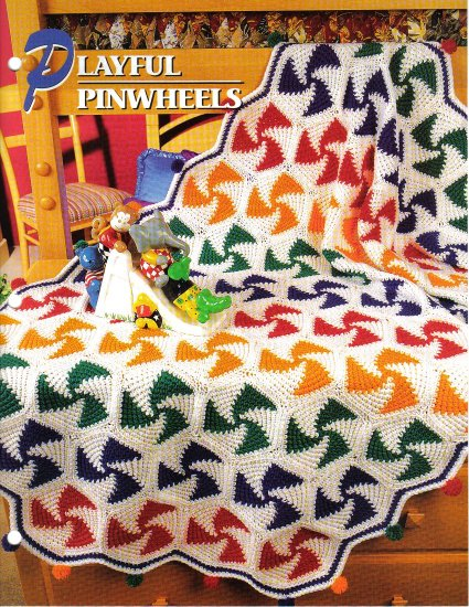 Annie�s Attic Q & A Club~ Playful Pinwheels~ Free Shipping