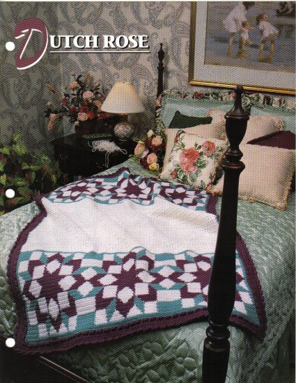 Annie�s Attic Q & A Club~ Dutch Rose~ Free Shipping