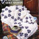 Annie's Attic Q & A Club~ Oh My Stars! Quilt Afghan~ Free Shipping