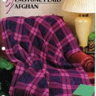 Annie's Attic Q & A Club~ Gemstone Plaid Afghan~ Free Shipping