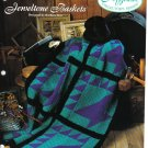 Needlecraft Shop~ Afghan Collector's Series~ Jeweltone Baskets~ Free Shipping
