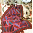 Needlecraft Shop~ Afghan Collector's Series~ Crazy Patch~ Free Shipping