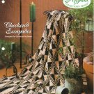 Needlecraft Shop~ Afghan Collector's Series~ Checkered Escapades~ Free Shipping