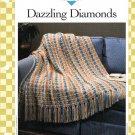 Vanna's Afghan & Crochet Favorites~ Dazzling Diamonds~ Crochet Pattern~ Free Shipping