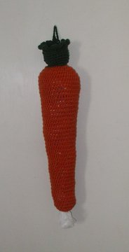 Carrot~ Plastic Grocery Bag Holder Keeper~ Free Shipping