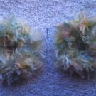 Baby/Toddler  Hair Scrunchie Scrunchies Pair~ Pastel    ~ Free Shipping