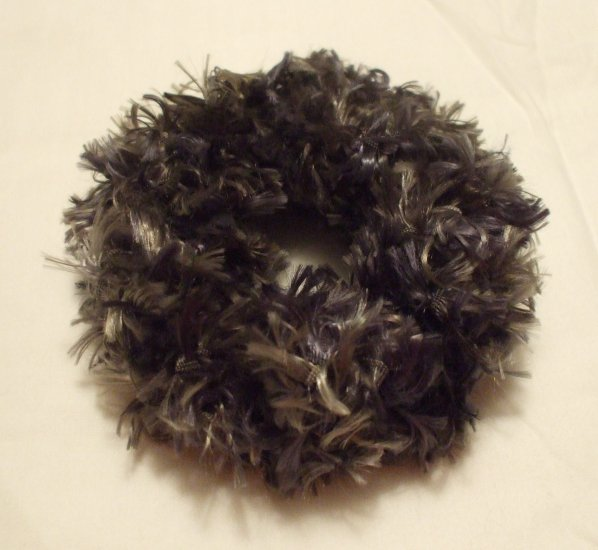 Ponytail Hair Scrunchie~ Lt/Dk Green~ Free Shipping