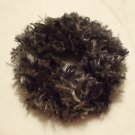 Ponytail Hair Scrunchie~ Lt/Dk Green~ Free Shipping