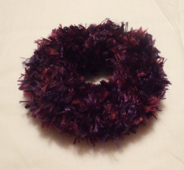 Ponytail Hair Scrunchie~ Parrot(purple)~ Free Shipping