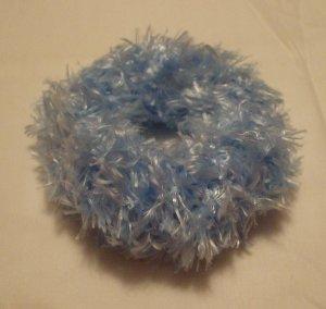 Ponytail Hair Scrunchie~ Light Blue~ Free Shipping