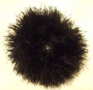 Ponytail Hair Scrunchie~ Black~ Free Shipping