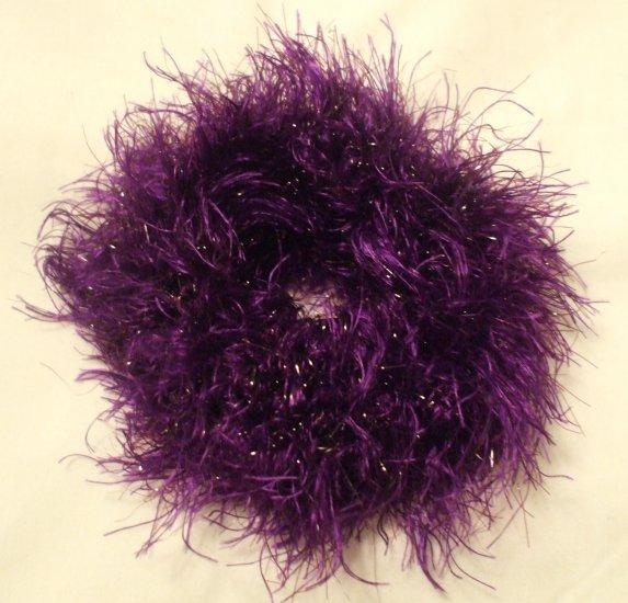 Ponytail Hair Scrunchie~ Motown Mauve~ Free Shipping