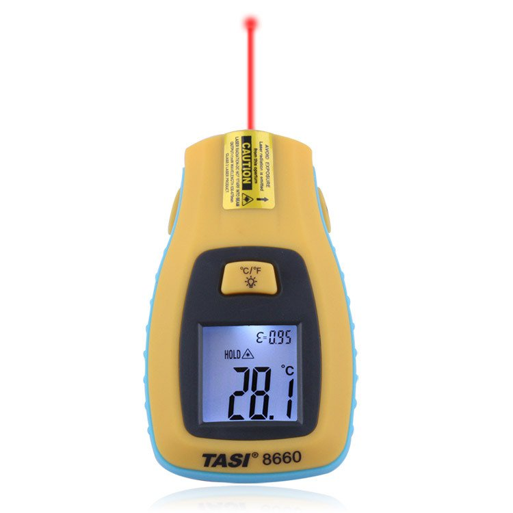 TASI-8660 Infrared Thermometer -50to330 Degree Celsius Protable Easy Operation IR Thermometer